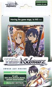 Weiss Schwarz Trial Deck Trading Card Game: Sword Art Online