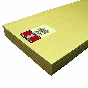 Basswood Sheets 3/16x6x24 [5 Pack] (4128)