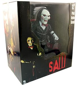 "Saw 12"" Billy the Puppet Doll with Tricycle"