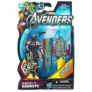 Marvel Universe Avengers Movie 4 Inch: Marvel's Hawkeye (Masked) [Snap Out Bow]