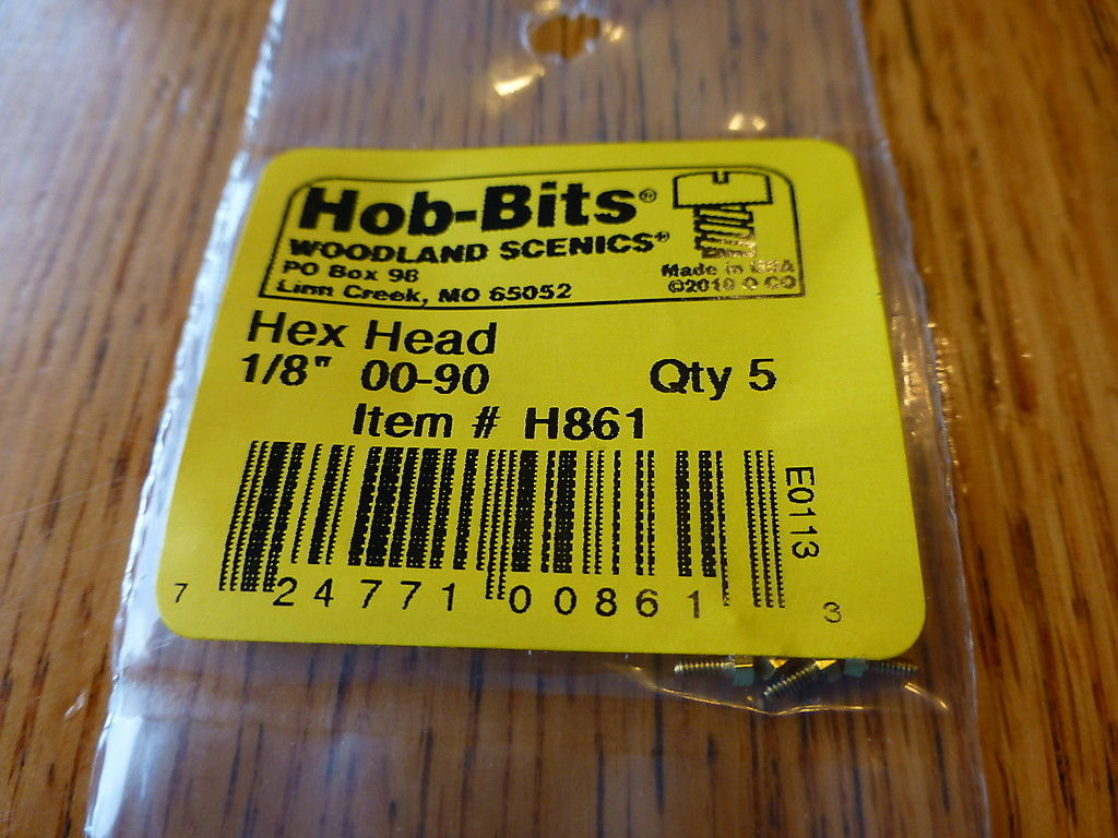 00-90 1/8In. Hex Head Hob-Bits [5 Pack] (861)