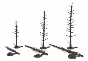 "2 1/2""-4"" Pine Tree Armatures [70 Pack] (1124)"