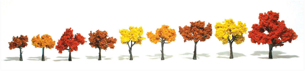 "3-5"" Fall Mix Trees [6 Pack] (1541)"