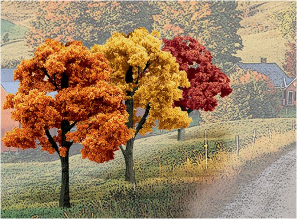 "3-5"" Fall Deciduous Trees [14 Pack] (1577)"