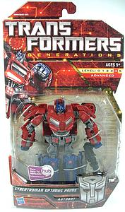 Transformers Generations Series Deluxe Class Cybertronian Optimus Prime