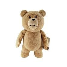 "Ted 16"" Talking Plush Doll: Clean Moving Mouth"