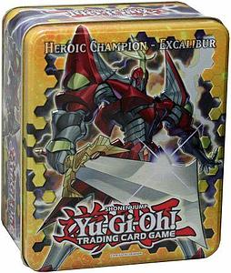 Yugioh Trading Card Game Holiday Collector Tins Wave 1: Heroic Champion Excalibur
