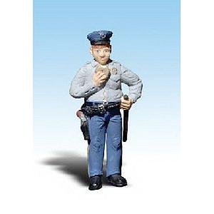 Cop with Doughnut (2532)