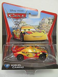 Mattel Disney Cars Die-Cast 1:55 Scale Toy: Miguel Camino #23