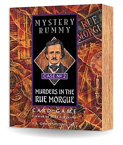 Mystery Rummy Case #2: Murders in the Rue Morgue