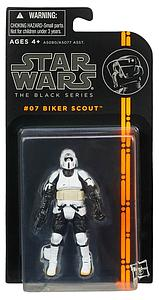 Star Wars Legends The Black Series 1 3 3/4: Biker Scout #7
