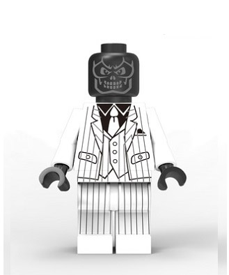 DC Comics SuperHeroes Minifigure: Black Mask