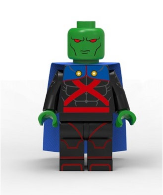 DC Comics SuperHeroes Minifigure: Martian Manhunter (Young Justice)
