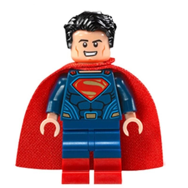 DC Comics SuperHeroes Minifigure: Superman (Dawn of Justice)