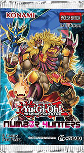 YuGiOh Trading Card Game: Number Hunters Booster Pack