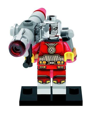 DC Comics SuperHeroes Minifigure: Deadshot