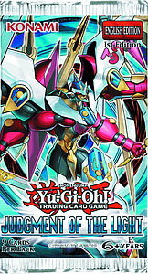 YuGiOh Trading Card Game Judgement of the Light: Booster Pack