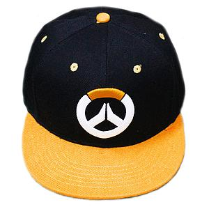 Overwatch Hat / Ballcap Logo Orange Brim (Snapback)