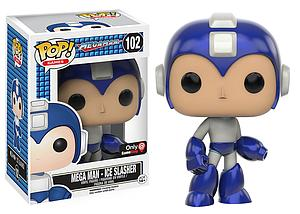 Pop! Games Mega Man Vinyl Figure Mega Man Ice Slasher #102 Gamestop / EB Games Exclusive