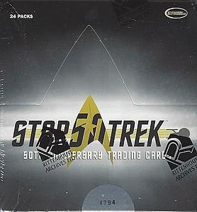 Star Trek 50th Anniversary Trading Cards: Booster Box (24 Packs)