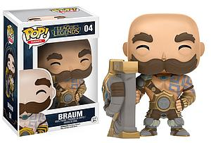 Pop! Games League of Legends Vinyl Figure Braum #04 (Vaulted)
