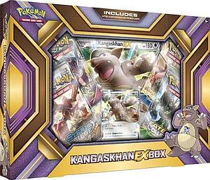 Pokemon Trading Card Game: Kangaskhan-EX Box