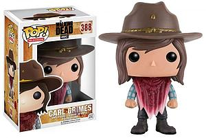 Pop! Television The Walking Dead Vinyl Figure Carl Grimes (with Bandana) #388