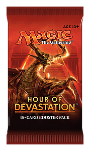 Magic the Gathering: Hour of Devastation Booster Pack (15 Cards)