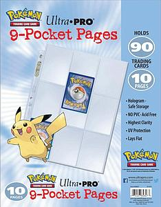 Pokemon 9-Pocket Pages: 10 Pack