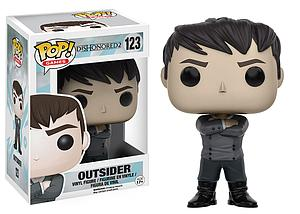 Pop! Games Dishonored 2 Vinyl Figure Outsider #123 (Vaulted)