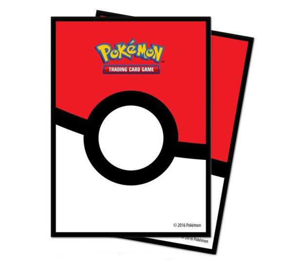 Card Sleeves Standard Size: Pokeball