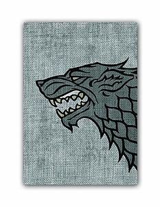 Game of Thrones House Stark Card Sleeves Board Game Size: Standard Card Game