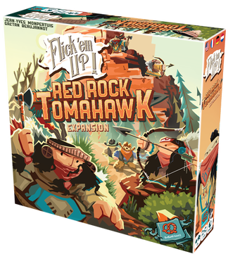 Flick'em Up! Red Rock Tomahawk