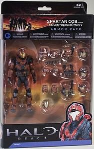 "Halo Reach 6"" Series 5 Two-Pack: Spartan QCB (Security/Operator/Mark V)"
