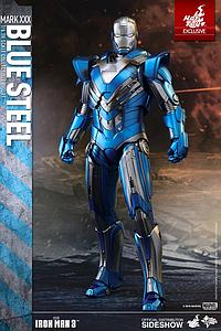 Iron Man 3 Mark XXX Blue Steel (Exclusive) (MMS391)