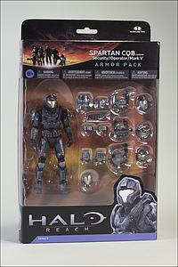 "Halo Reach 6"" Series 5 Two-Pack: Spartan CQB (Black)"