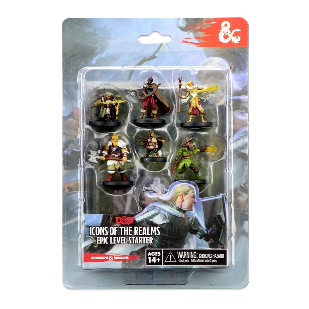 Dungeons & Dragons: Icons of the Realm Miniatures -  Epic Level Starter