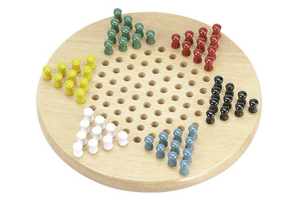 "11"" Standard Chinese Checkers Set"