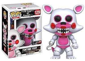 Pop! Games Five Nights at Freddy's Vinyl Figure Funtime Foxy #129 EB Games / GameStop Exclusive