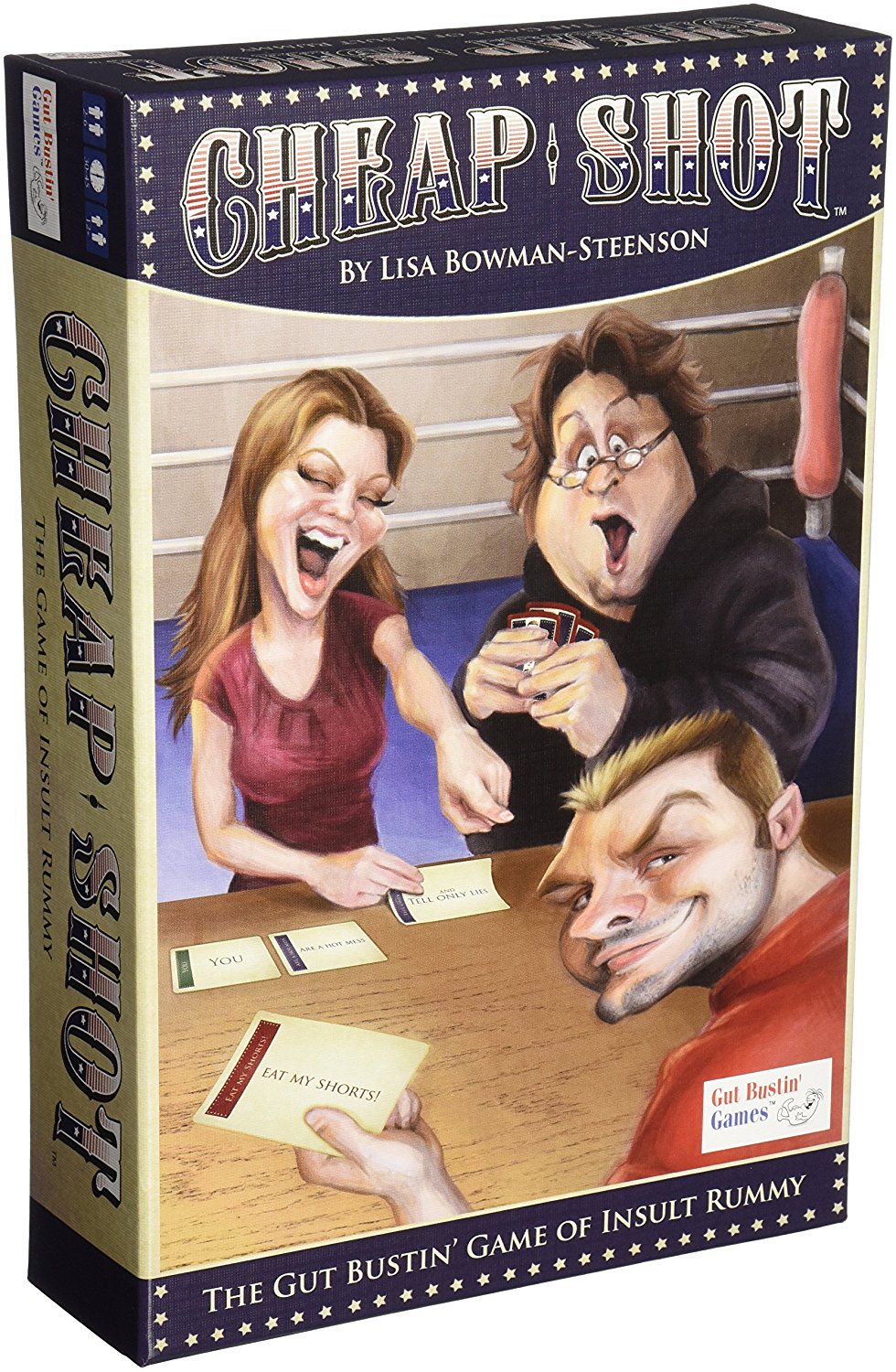 Cheap Shot: The Game of Insult Rummy