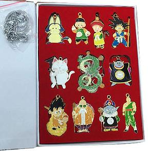 Dragonball Z Keychain/Necklace Box Set 11pc