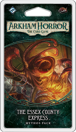 Arkham Horror: The Card Game - The Essex County Express Mythos Pack Mythos Pack