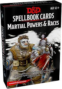 Dungeons & Dragons Martial Powers & Races Deck