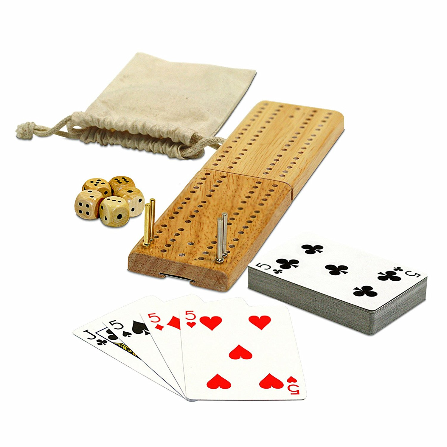 Cribbage & More Travel Game Pack (12 games)