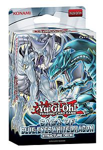 YuGiOh Trading Card Game Structure Deck: Saga of Blue-Eyes White Dragon