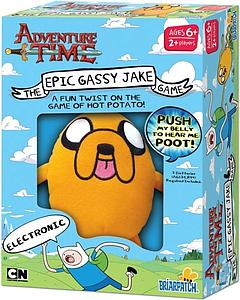 Adventure Time - The Epic Gassy Jake Game