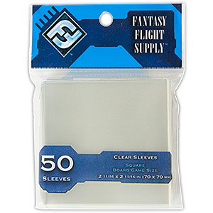 Card Sleeves Board Game Size: Square