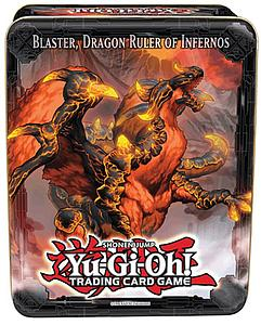 Yugioh Trading Card Game 2013 Collectible Tins Wave 1: Blaster, Dragon Ruler of Infernos