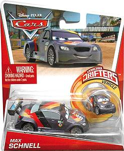 Mattel Disney Cars Die-Cast 1:55 Scale Toy: Max Schnell (w/ Micro Drifter)