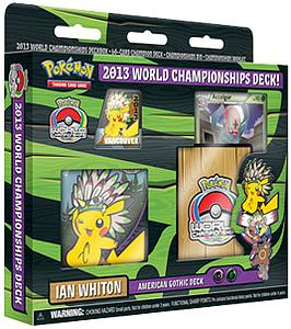 Pokemon TCG 2013 World Championships Deck: Ian Whiton - American Gothic Deck
